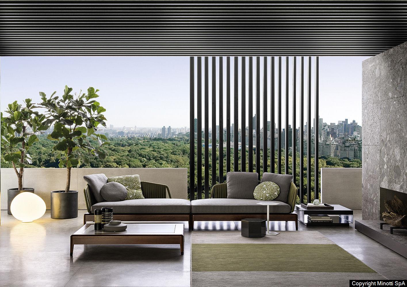 minotti outdoor möbel