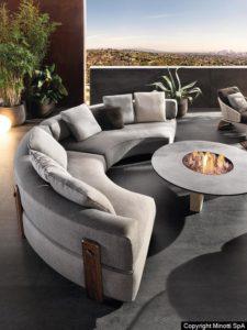 minotti outdoor möbel