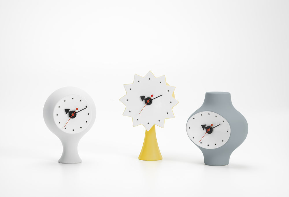 ceramic clocks vitra