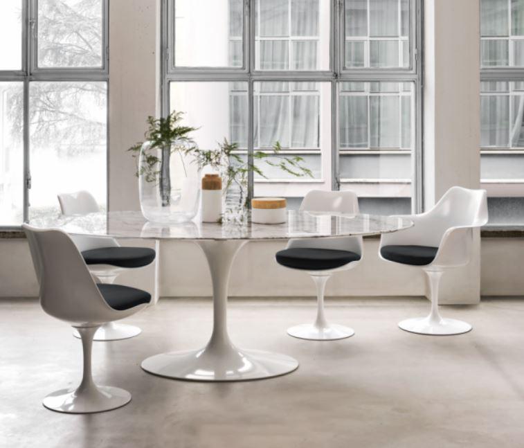tulip arm chairs