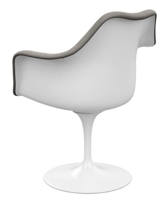 tulip chair gepolstert