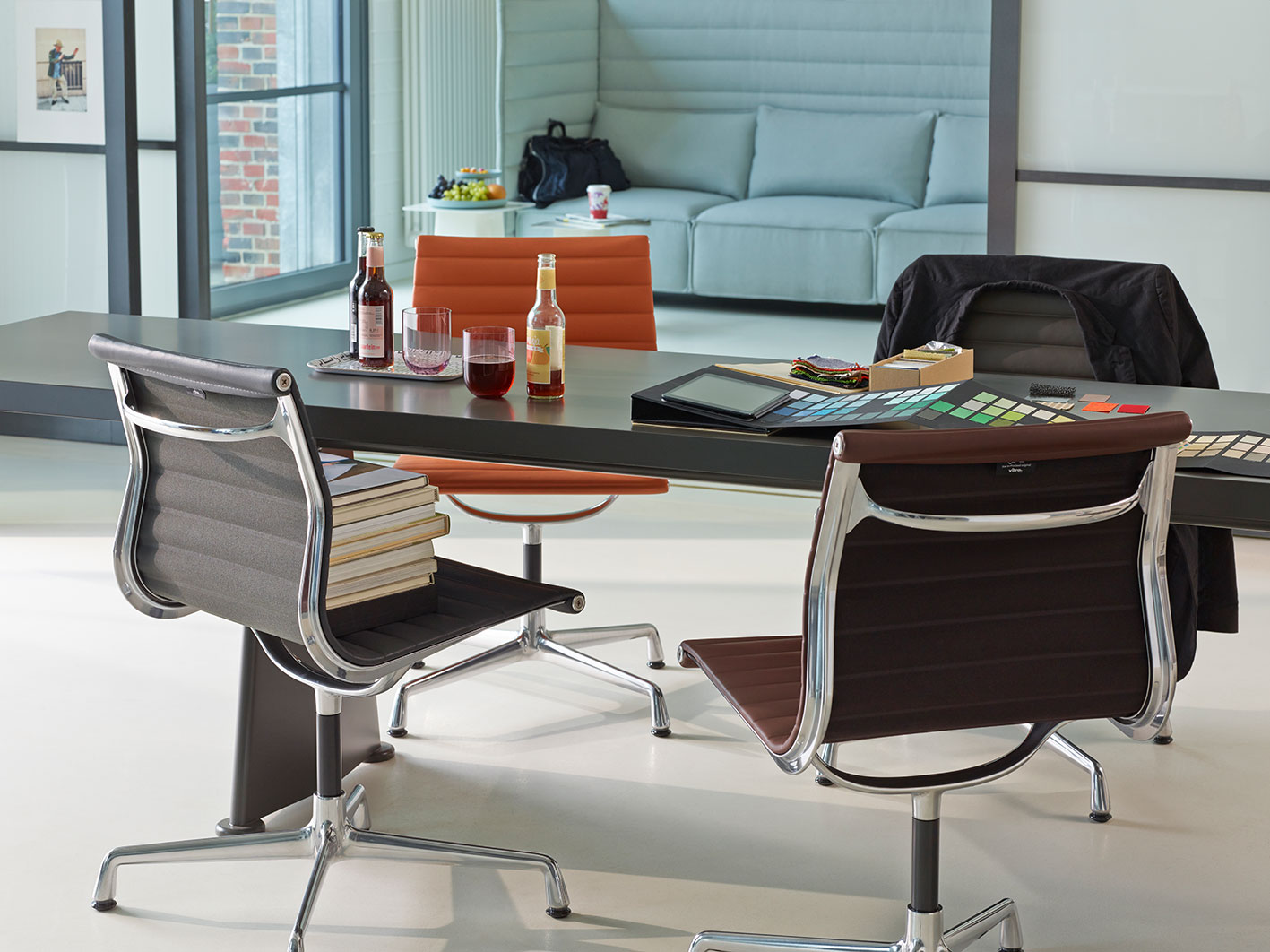 aluminium chair vitra bürostuhl