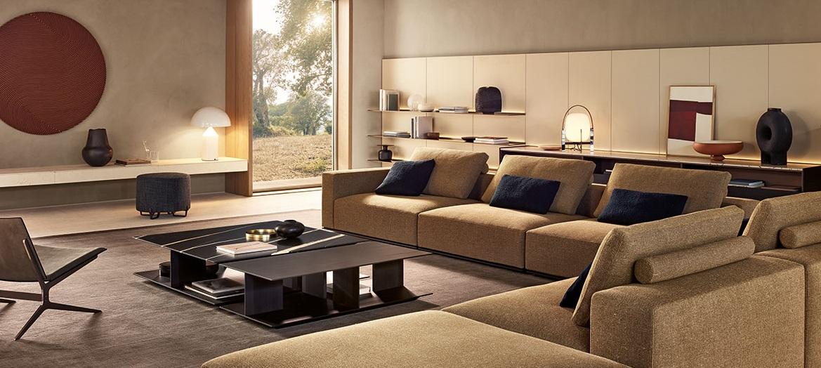 Poliform-Sofa