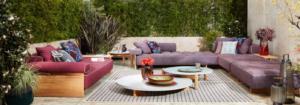 cassina outdoor lounge sofa