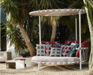 cassina trampline love bed outdoor
